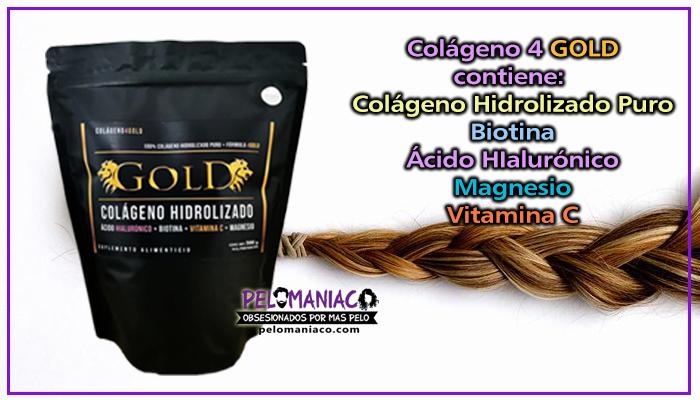 Colageno 4 GOLD - Colágeno Hidrolizado